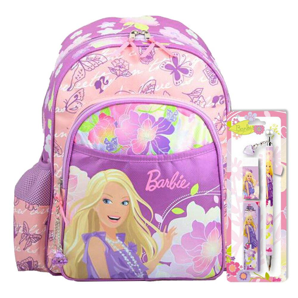 芭比Barbie 花開富貴書包文具組(BLA272832C)
