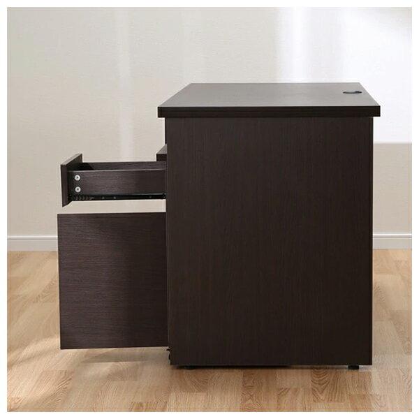 ◎系統桌 TRIPLO 119 DBR 複合式系統書桌櫃組 NITORI宜得利家居 3
