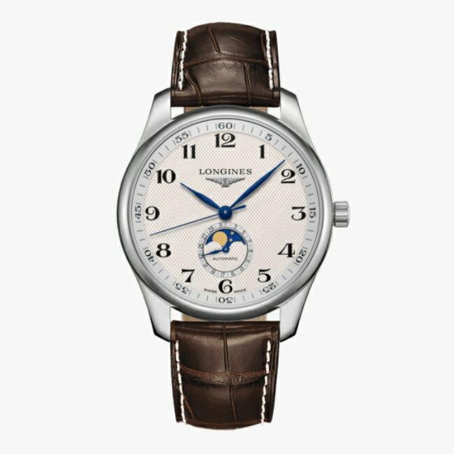LONGINES 浪琴 L29194783 名匠系列月相紳士腕錶 42mm