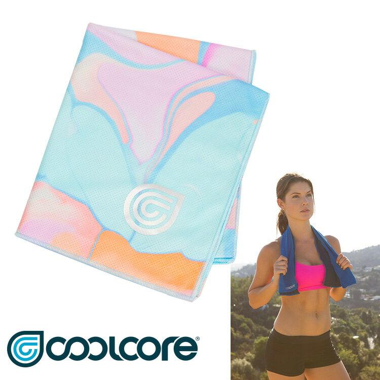 【印花系列】COOLCORE Chill Sport涼感運動巾  /  城市綠洲(涼感、降溫、運動戶外、高性能針織) 1