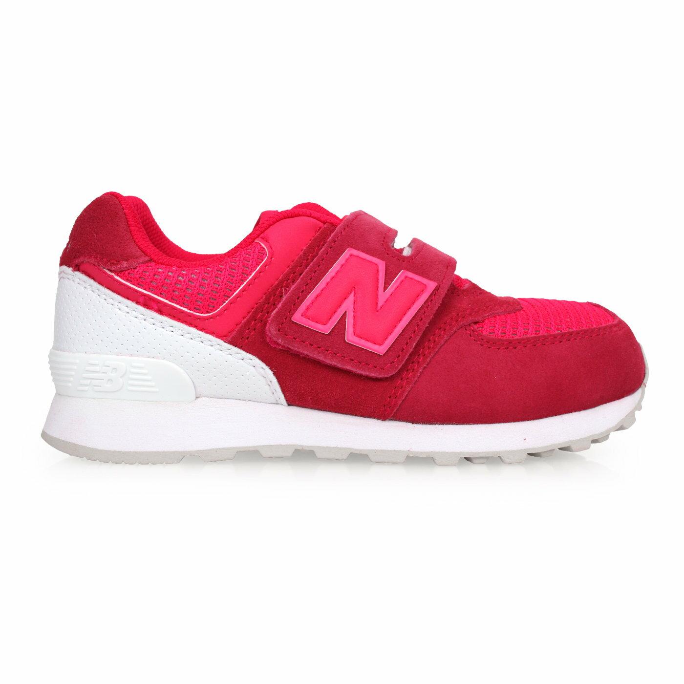 NEW BALANCE 574系列 男女童复古慢跑鞋(魔鬼毡)-WIDE (免运 NB【02016653】≡排汗专家≡