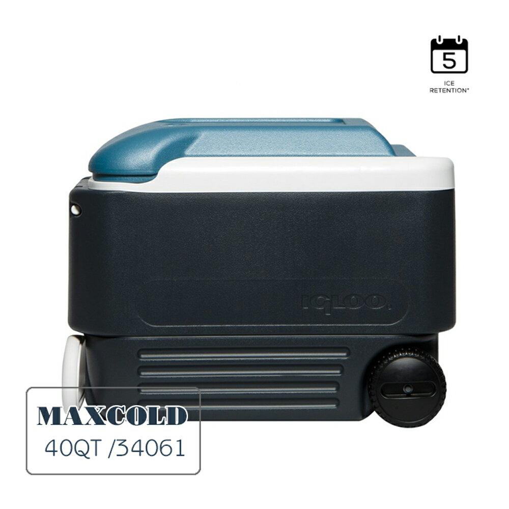 IGLOO MAXCOLD系列五日鮮40QT拉桿冰桶34061  /  城市綠洲(美國製造,保冷,保鮮,五天、露營冰桶) 1