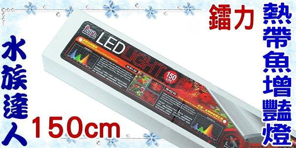<br/><br/>  【水族達人】鐳力Leilih《熱帶魚增豔燈.150cm(W-R1-50)》LED/5尺<br/><br/>