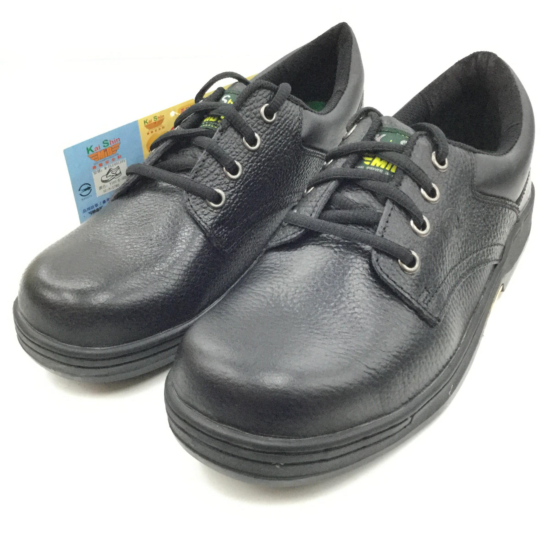 ※555鞋※ KS MIB 401I01 鞋邊車縫 鞋帶式 超厚乳膠鞋墊 氣墊式安全鞋(會呼吸喔)~送襪子乙雙