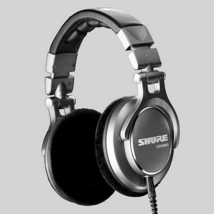 <br/><br/>  志達電子 SRH940 美國 SHURE 耳罩式 監聽耳機 (富銘公司貨) 門市開放試聽!<br/><br/>