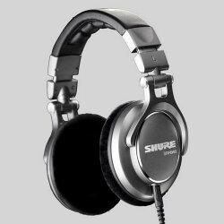志達電子 SRH940 美國 SHURE 耳罩式 監聽耳機 (富銘公司貨) 門市開放試聽!