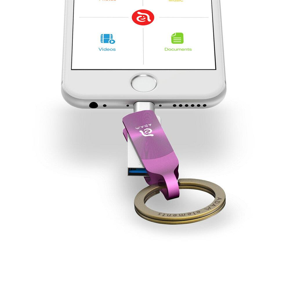 iKlips DUO + Apple 專用雙向USB 3.1 極速多媒體行動碟 32GB【亞果元素】 蘋果/APPLE/手機/3C/iPhone/儲存/隨身碟/輕便 7