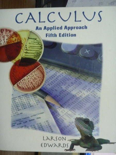 【書寶二手書T9/大學商學_QXC】Calculus_Larson,Edwards _5/e