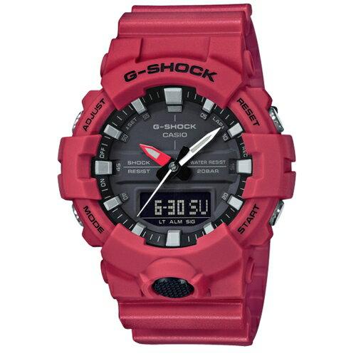 方采鐘錶 CASIO G-SHOCK 絕對強悍速度運動腕錶/ GA-800-4ADR