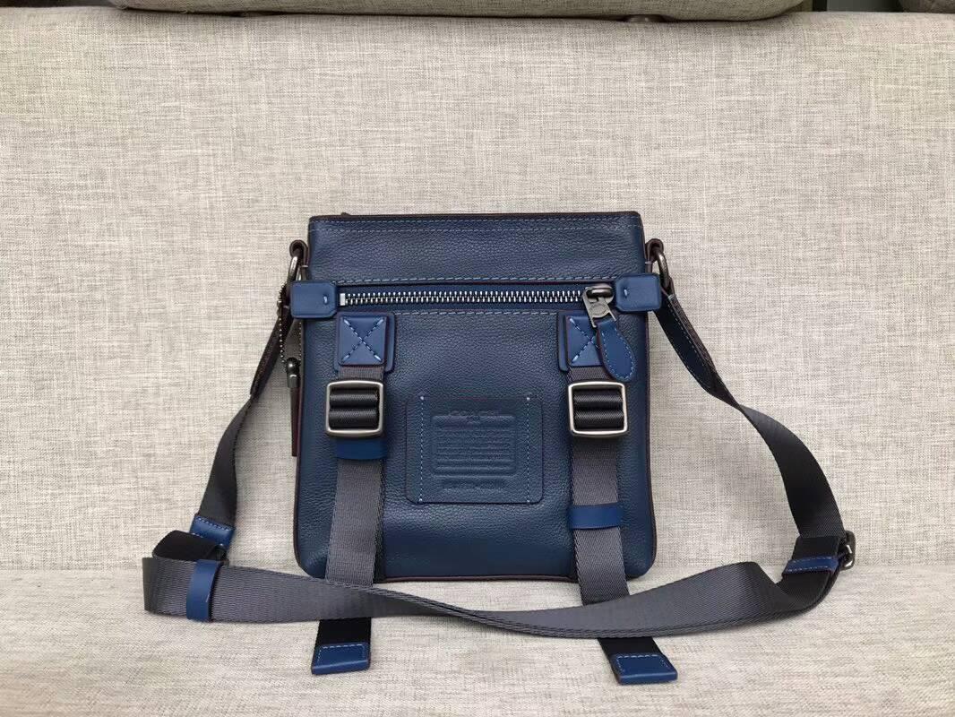 美國正品代購 Coach F25266 男女款雙扣翻蓋外出包 工作包 公事包#雙色可選
