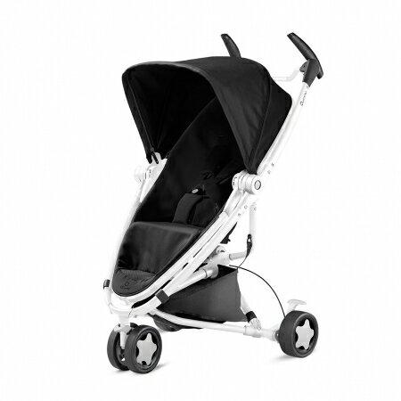 【淘氣寶寶】Quinny ZAPP xtra2 Pure 嬰兒手推車【白管支架黑】【保證公司貨●品質有保證●非水貨】
