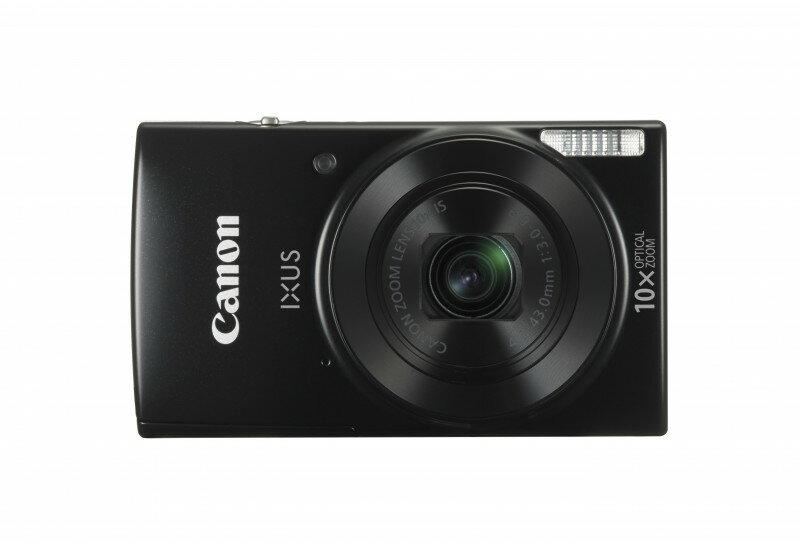 Canon IXUS 190 Black Digital Compact Camera International Version 0