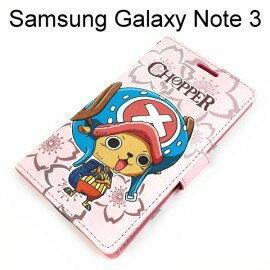 海賊王側開支架皮套 ^~J19^~ Samsung Galaxy Note 3 N900