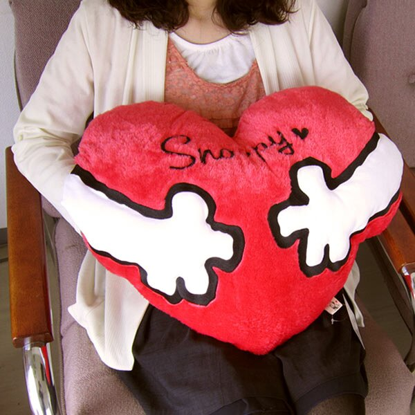日本代購預購 SNOOPY 史努比 史奴比系列 抱枕 愛心抱枕 聖誕節 交換禮物 愛的抱抱 049-416