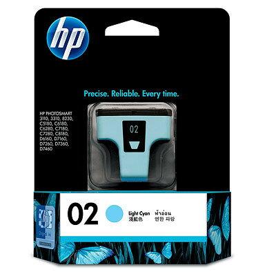 【OKIN】HP 原廠淺青綠色墨水匣 C8774WA 02號 噴墨印表機