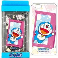 小叮噹週邊商品推薦Doraemon 哆啦A夢 Apple iPhone 6 (4.7吋) 彩繪透明保護軟套
