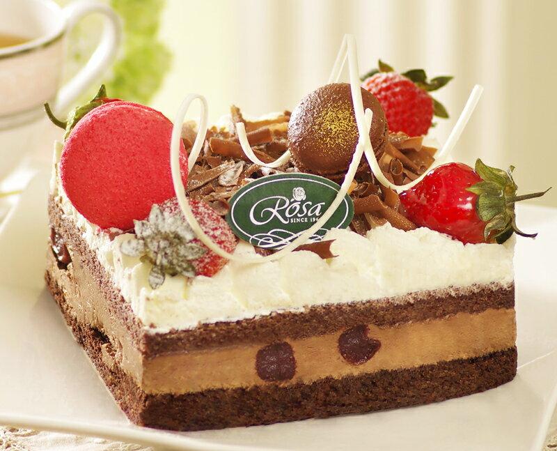 【羅撒蛋糕】母親節蛋糕~「曼巴森林」|巧克力慕斯蛋糕|6吋~8吋|5月6日~5/14日出貨