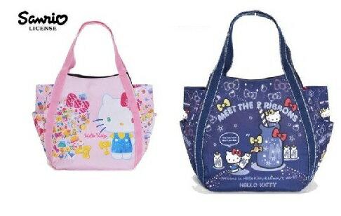大賀屋 Hello Kitty 托特包 手提包 肩背包 斜背包 側背包 帆布 三麗鷗 日貨 T0001 222 -223