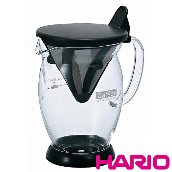 【沐湛咖啡】日本原裝Hario CFO-2 免濾紙濾杯 1-2人份300ML獨享杯 手沖咖啡 附量匙 不鏽鋼濾網