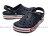 《CROCS出清69折》Shoestw【205089-4CC】CROCS 卡駱馳 鱷魚 輕便鞋 拖鞋 涼鞋 深藍白紅 弧線 中性款 0