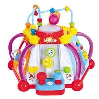麗嬰兒童玩具館~匯樂-快樂小天地 .多功能六面音樂智慧盒.十五合一超有趣.專櫃同款-麗嬰兒童玩具館-媽咪親子推薦