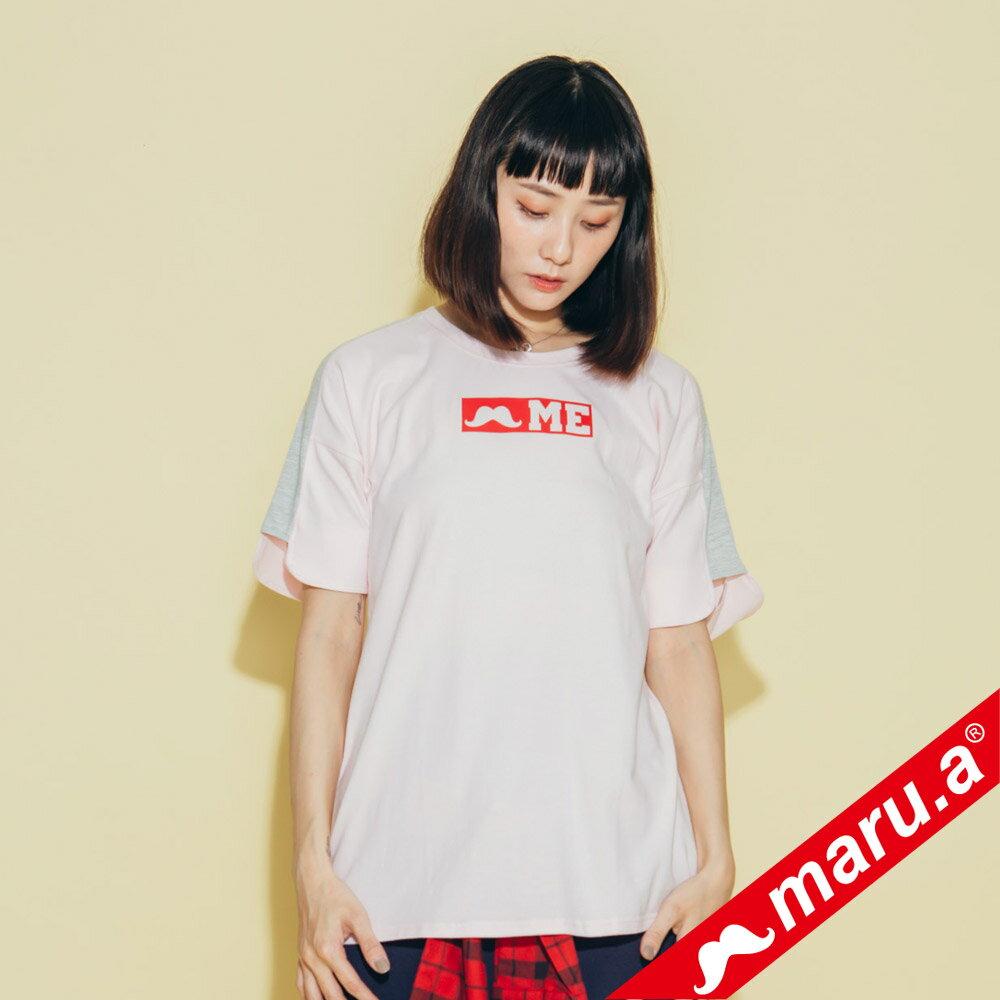 【maru.a】鬍子ME印花T-Shirt(2色)8321319 0