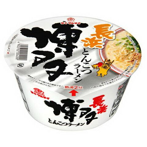 [日本九州風味拉麵]丸太博多長濱豚骨碗麵 77g