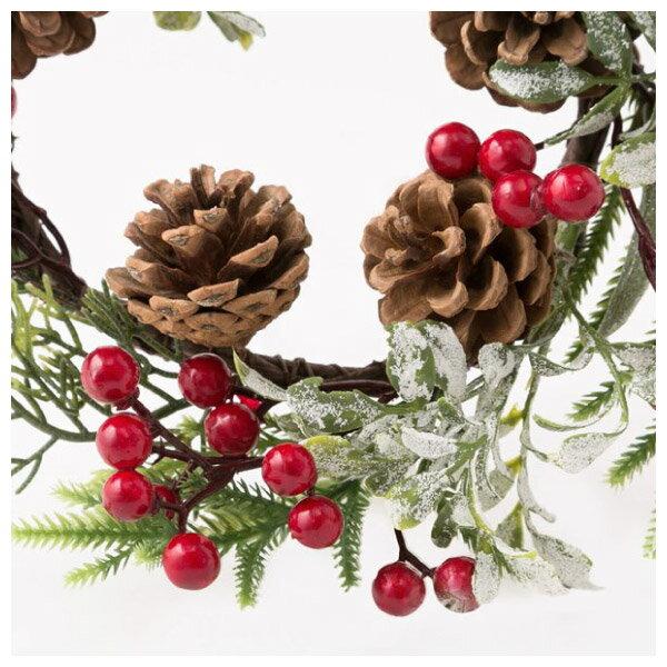聖誕裝飾花圈 25cm RED RH02-17911 NITORI宜得利家居 4