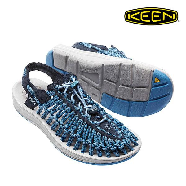 KEEN織帶涼鞋Uneek1016897《女款》城市綠洲(編繩結構、輕量、戶外休閒鞋、運動涼鞋)