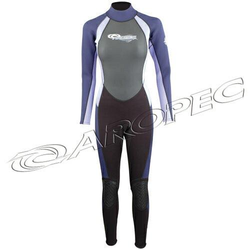 【【蘋果戶外】】AROPECDS-5B52W-32mm(黑紫灰)32mm女款長袖長褲連身防寒衣百分百台灣製品質保證