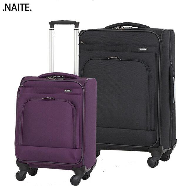 【MOM JAPAN】NAITE系列 20吋 台灣製防盜拉鍊 行李箱 / 拉鍊行李箱 / 登機箱 (5002-黑色)【威奇包仔通】 2