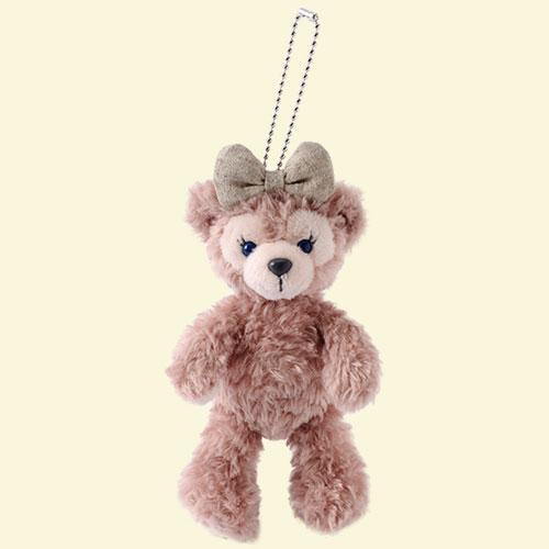 X射線【C917067】日本東京迪士尼代購-雪莉玫ShellieMay娃娃站姿吊飾,包包掛飾鑰匙圈雪莉玫達菲畫家