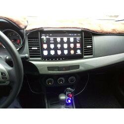 Mitsubishi Lancer fortis 平板 上網 安卓版螢幕主機 WIFI.網路電視.藍芽電話