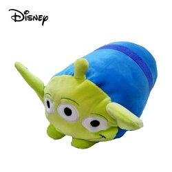 【日本正版】三眼怪 圓筒 抱枕 28cm 靠枕 午睡枕 玩具總動員 皮克斯 迪士尼 Disney - 112533