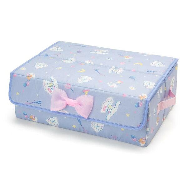 X射線【C293850】大耳狗Cinnamoroll貼身衣物收納箱-雲,分隔箱玩具箱置物盒文具收納箱衣物收納櫥櫃收納