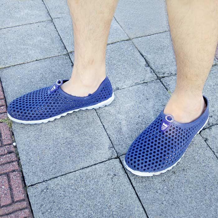 透氣洞洞防水休閒鞋-男款(包腳跟款/拖鞋款)