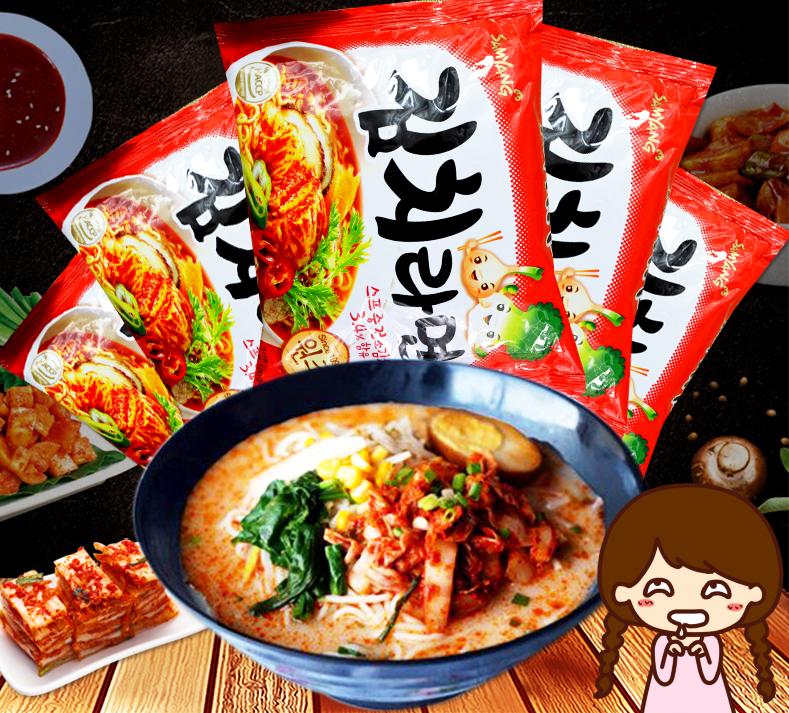 有樂町進口食品 韓國內銷版 韓國Samyang三養泡菜拉麵(120g) 8801073101630
