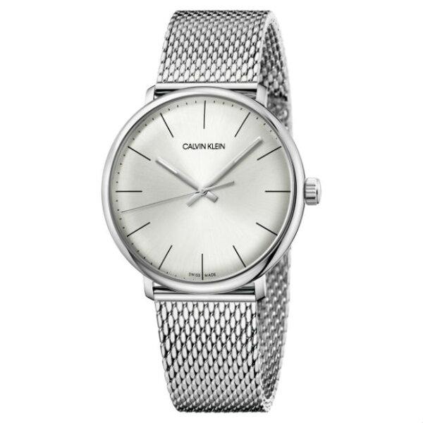 CalvinKlein巔峰系列(K8M21126)銀色米蘭簡約時尚腕錶銀面39mm