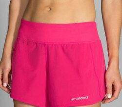 BROOKS  Chaser 吸濕 排汗 慢跑 低腰 短褲  BK221040689(女 牡丹紅短褲)[陽光樂活]