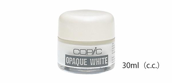 日本原裝進口COPIC酷筆客水性不透明遮覆液修正液30ml(c.c.)瓶爆亮白