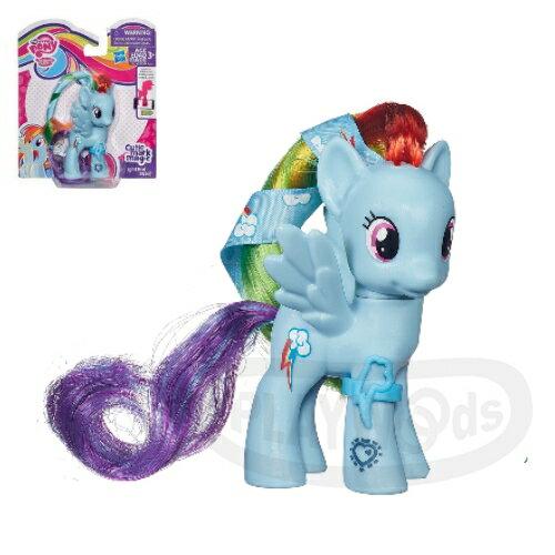 【Playwoods】[彩虹小馬My Little Pony] 第五季基本小馬組-雲寶Rainbow Dash(可搭配APP遊戲/雲寶黛西/友情就是魔法/可愛標誌魔法/MLP/水晶王國/小馬寶莉/我的小馬駒/Friendship Celebration/孩之寶Hasbro)