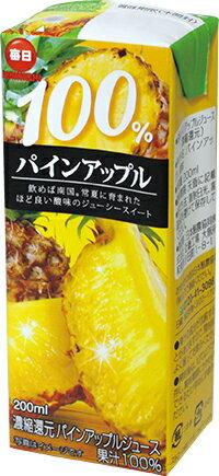 日本酪農 每日鳳梨汁200ml - 限時優惠好康折扣