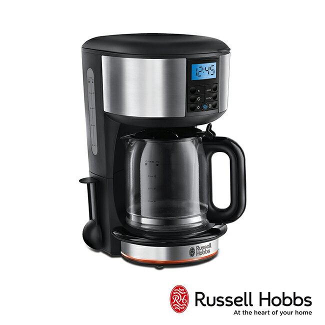 Russell Hobbs 英國羅素 Legacy 晶亮咖啡機20681TW-晶亮銀