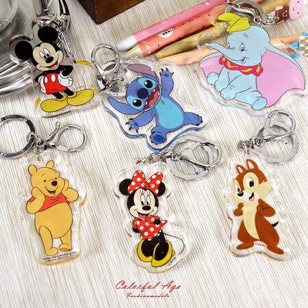 鑰匙圈 正版迪士尼Disney系列 柒彩年代【NS16】單個 - 限時優惠好康折扣