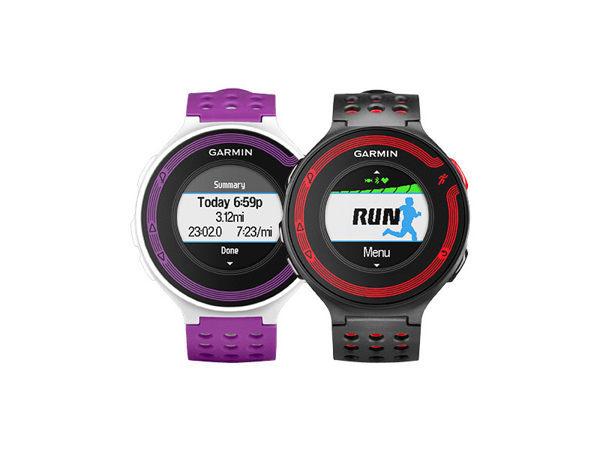 GARMIN Forerunner 220 進階級跑步腕錶 不含心跳帶版(紫白/紅黑)