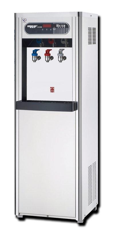 【大墩生活館】豪星牌HM-1688溫熱雙溫開放型熱交換飲水機,20000元。