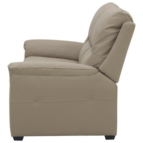 ◎(OUTLET)半皮3人用沙發 BEAZEL MO 福利品 NITORI宜得利家居 2