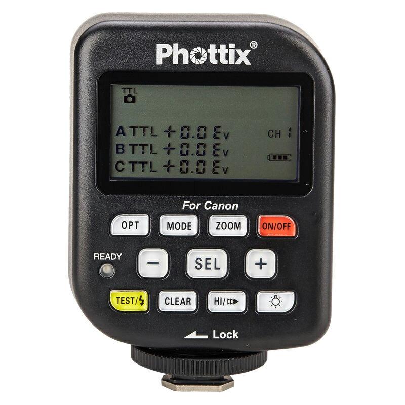 ◎相機專家◎ Phottix Odin TTL 無線閃燈發射器 for Canon 群光公司貨