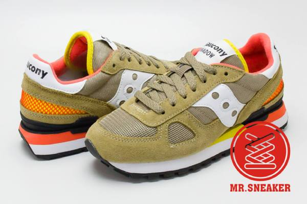☆Mr.Sneaker☆SauconySHADOWORIGINAL土黃卡其跳色女段