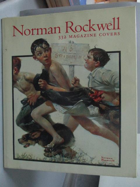 ~書寶 書T6/藝術_ZEI~Norman Rockwell~332 magazine c